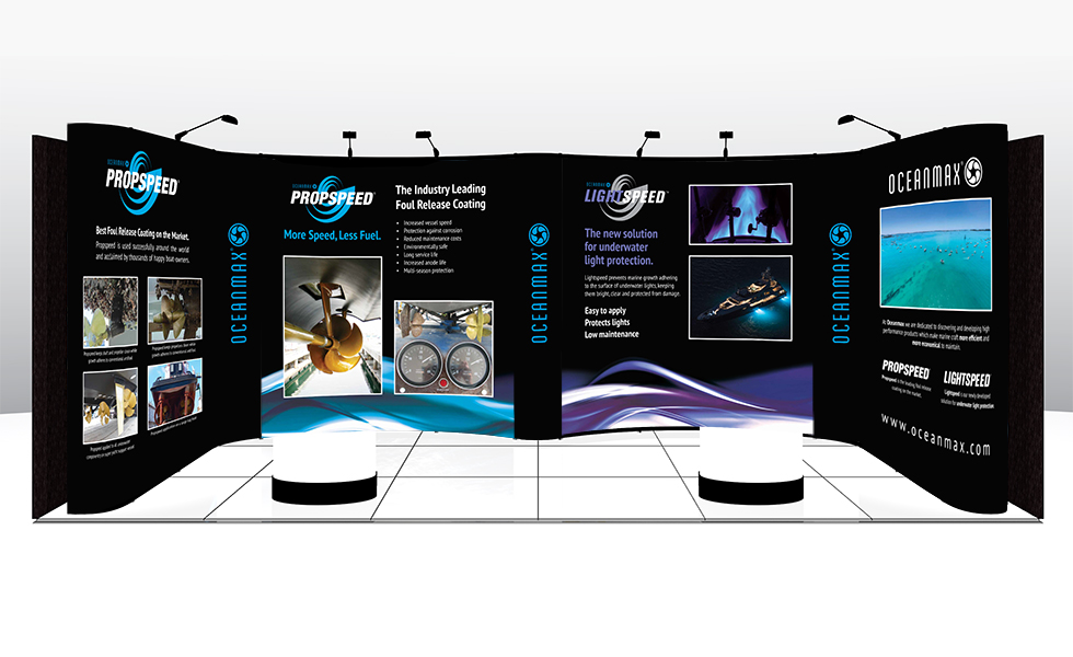 expo stand graphics