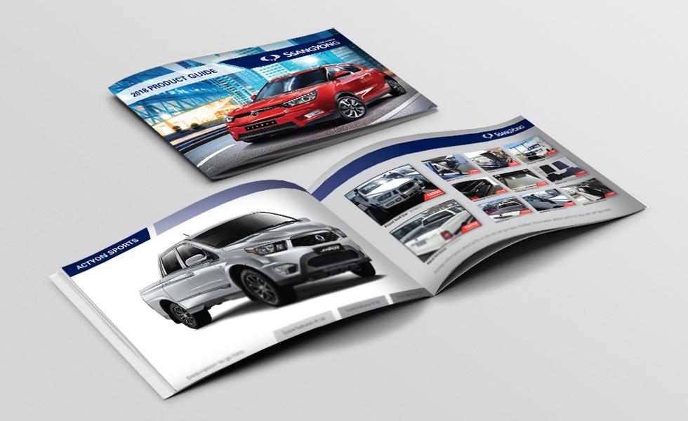 glossy A4 brochure